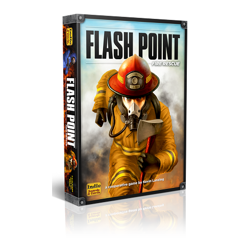 Flash Point Fire Rescue 2nd Edition -  Indie Boards and Cards